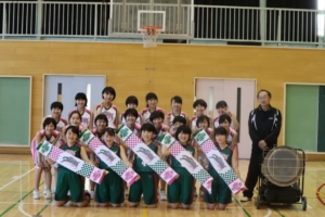 日野第四中学校女子バスケ部様