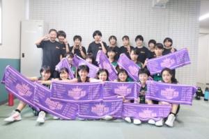 日野四中学校女子バスケットボール部様